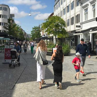 Herning City shopping